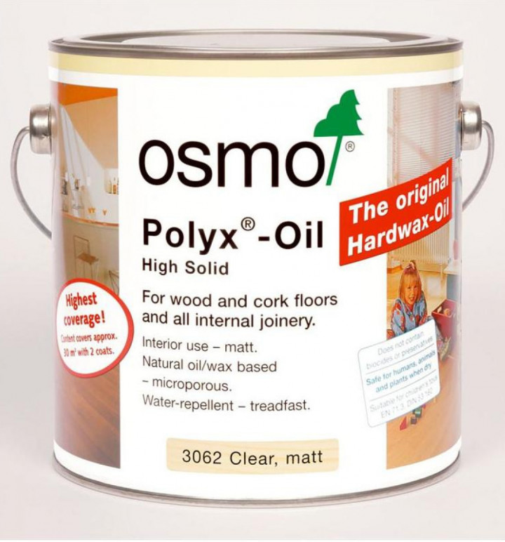 Osmo & other interior wood finishes