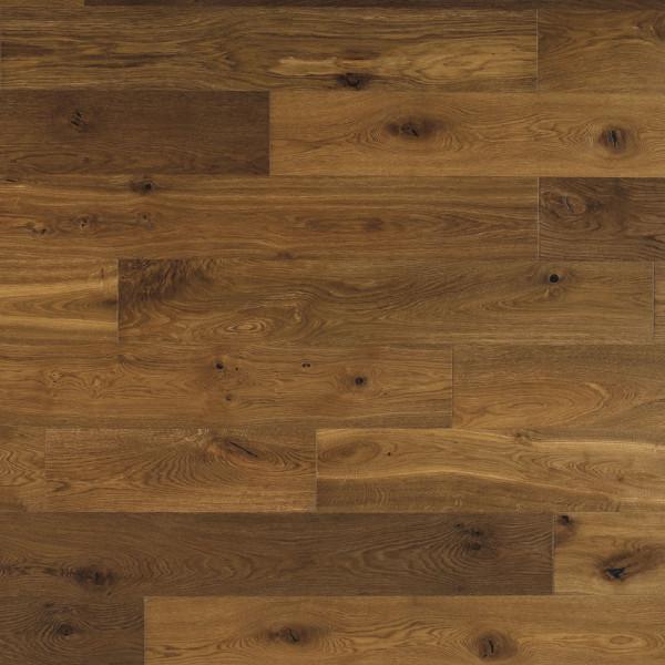 14mm Hand Knotted Smoked Oak Engineered Flooring