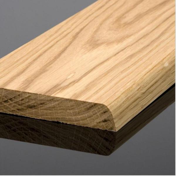 Solid Oak Bullnose Skirting Board 95mm Oil