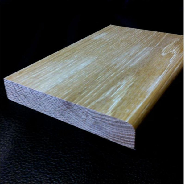 Solid Pencil Round Skirting Board 145mm Oil