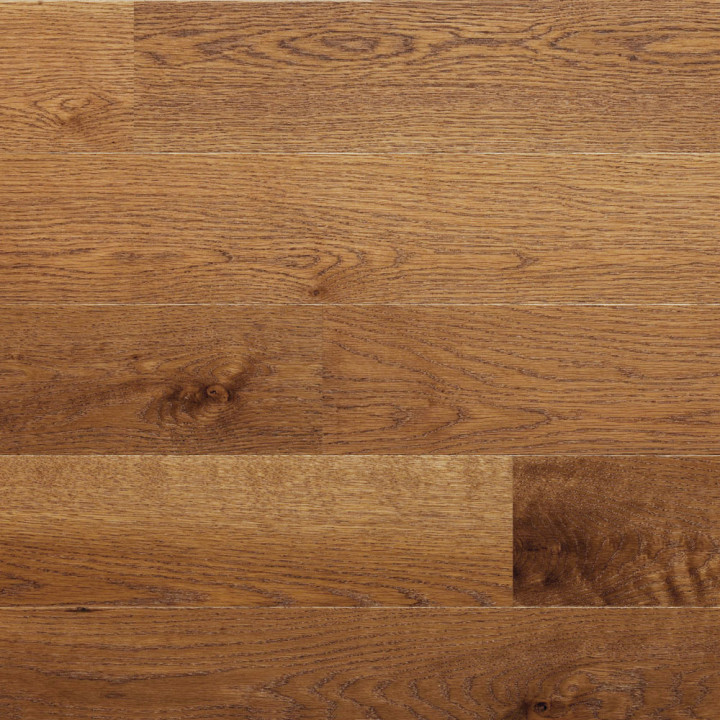 ELKA 12.5mm Golden  brushed matt lacq Oak Floor
