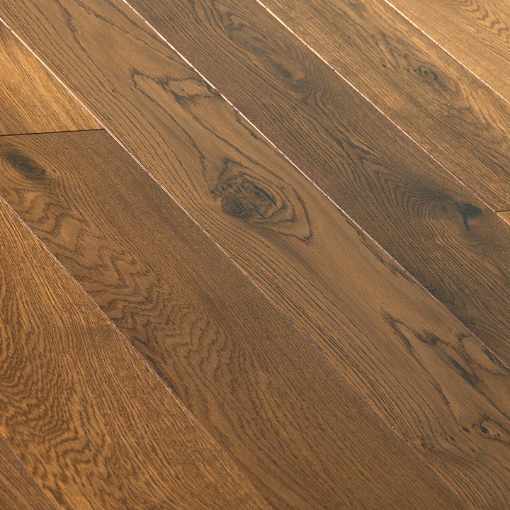 Brooks Floor - Blenheim Multi-ply Oak Smoked Lacquered Character M2009