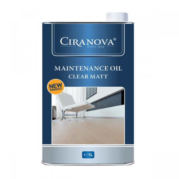 Ciranova Maintenance Oil 1L - Clear Matt