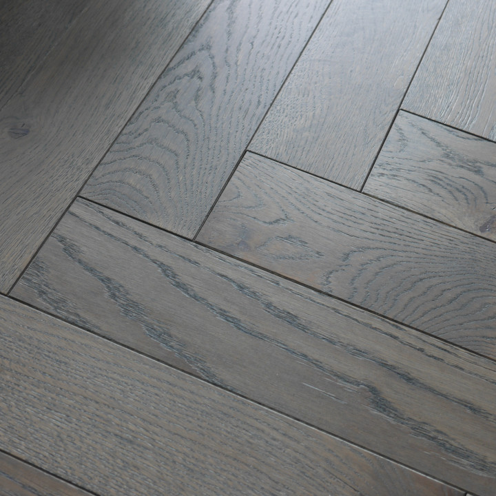 Developer Oak Stonewashed Herringbone/Parquet