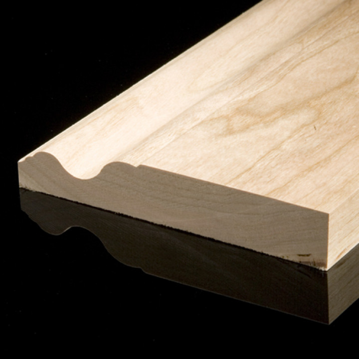 Solid Oak Ogee Skirting Pack Oiled