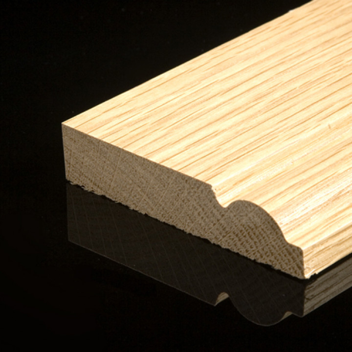 Solid Oak Taurus Skirting Pack