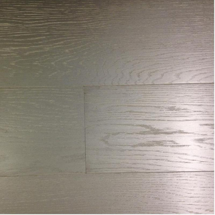 Chelsea SW3 Oak White Silver Wood Flooring