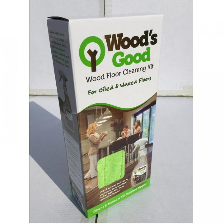 Woods Good Cleaning Kit For Oiled Floors