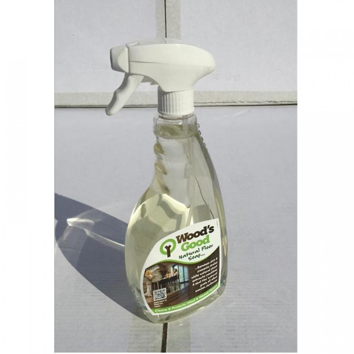 Woods Good Soap Spray Cleaner For Oiled Flooring