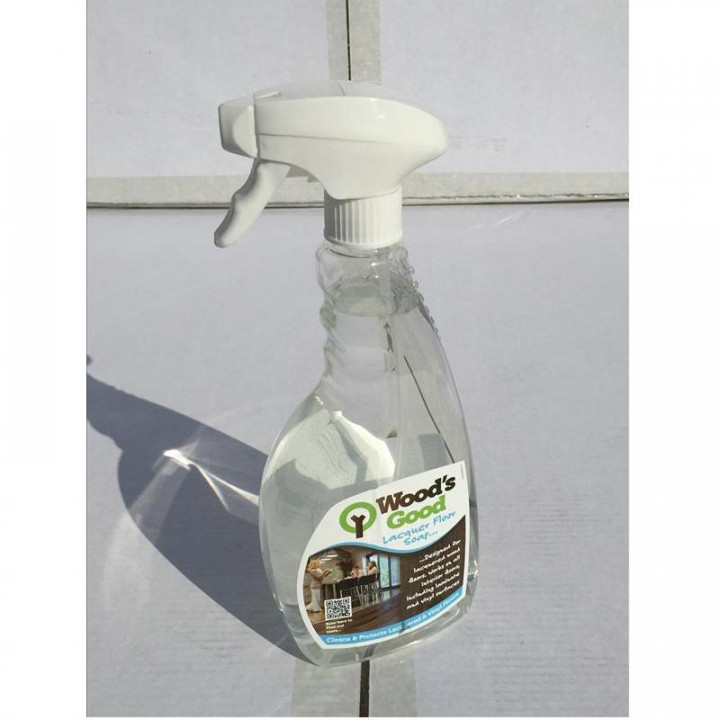 Woods Good Soap Spray Cleaner For Lacquered Flooring