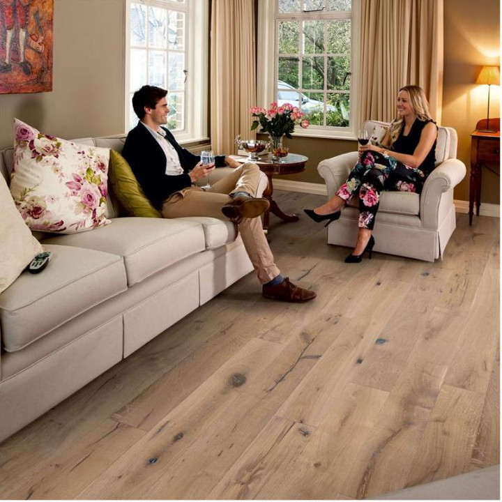 Torcello Autumn Oak Distressed & Oiled Wood Flooring