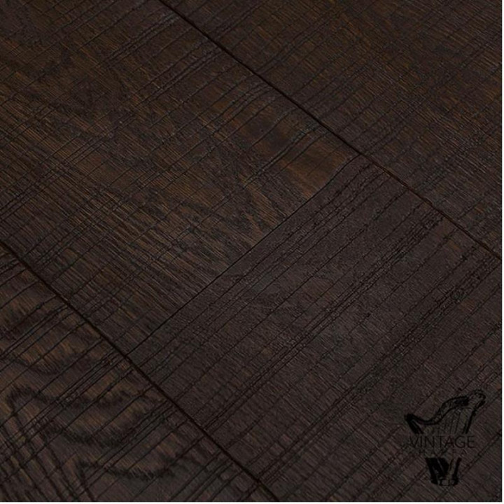 Esco Harfa Vintage - Dark Chocolate Oak Flooring