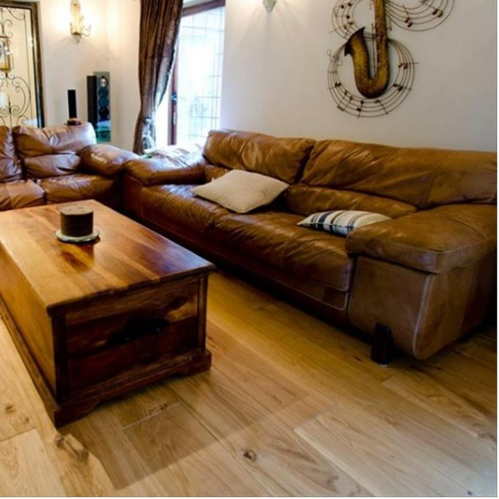 Riviera Oak Oiled Wide 240mm Plank