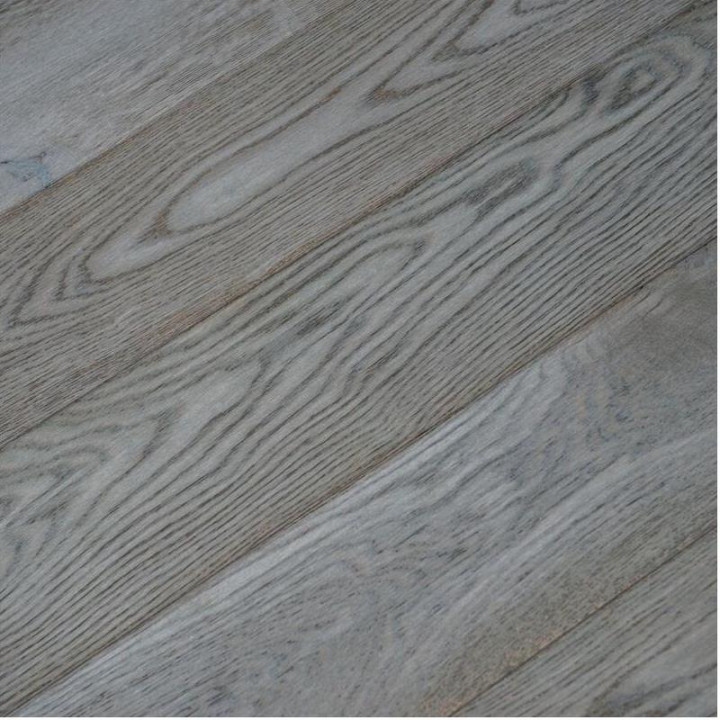 V4 Deco Collection DC102 'Smokehouse Grey' Oak Rustic Brushed, Stained & Hardwax Oiled