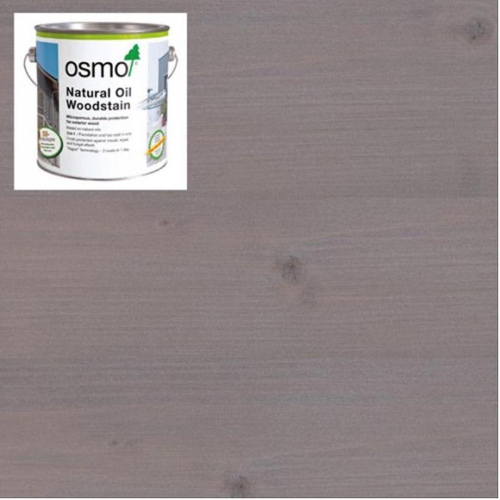 Osmo Natural Oil Woodstain Effect Agate-Silver-1140 2.5l