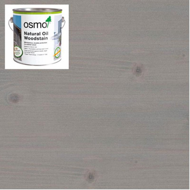 Osmo Natural Oil Woodstain Effect Quarz-Silver-1141 2.5l