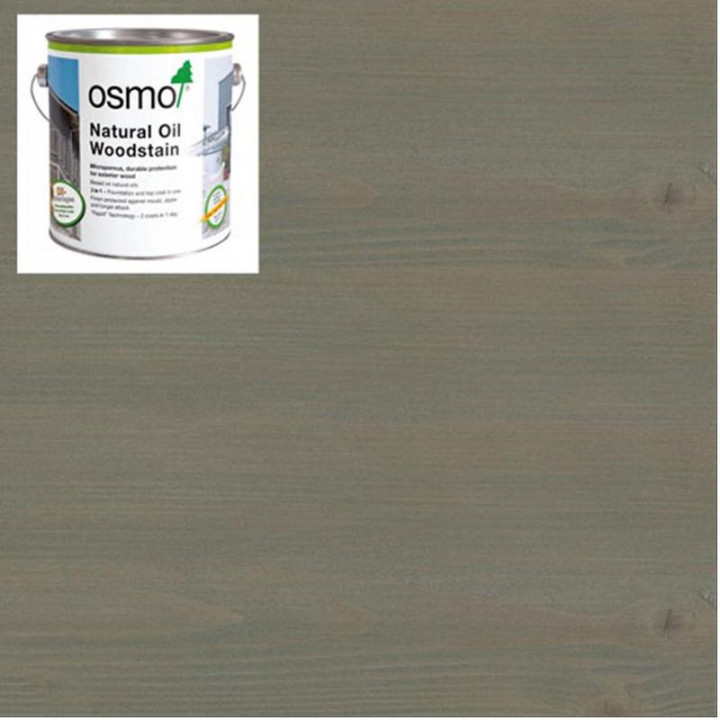 Osmo Natural Oil Woodstain Effect Graphite-Silver-1142 2.5l