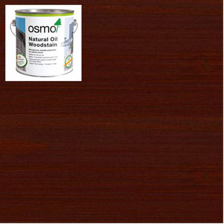 Osmo Natural Oil Woodstain Mahogany-703 2.5l