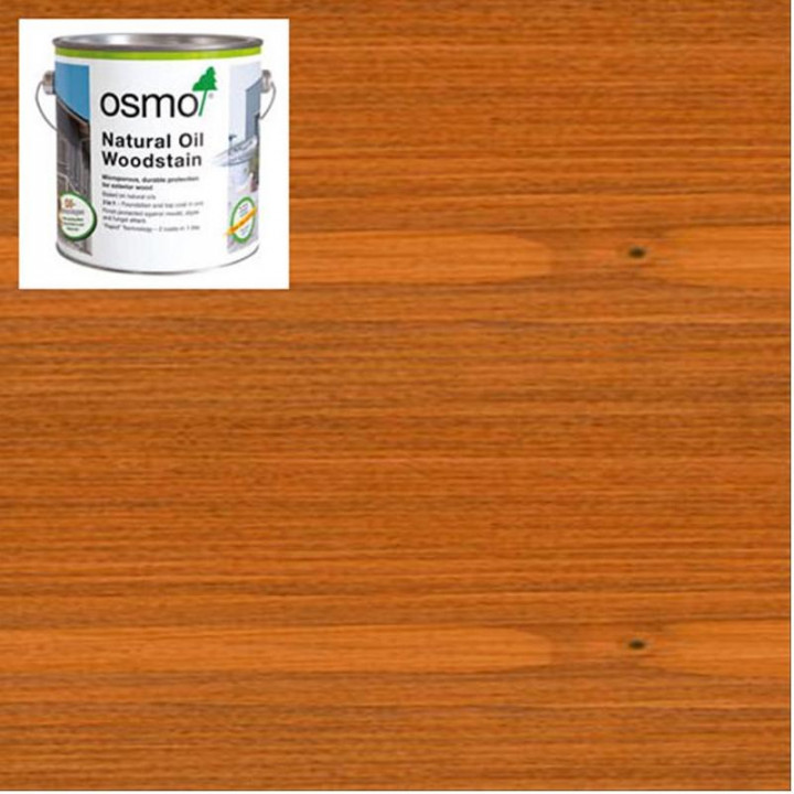 Osmo Natural Oil Woodstain Red-Cedar-728 2.5l
