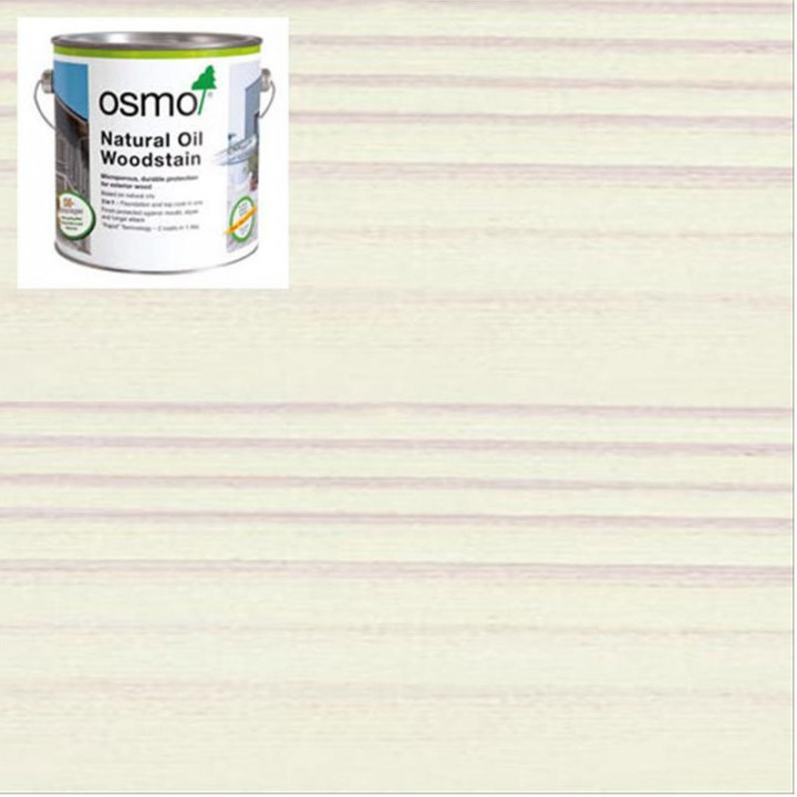 Osmo Natural Oil Woodstain White-900 2.5l