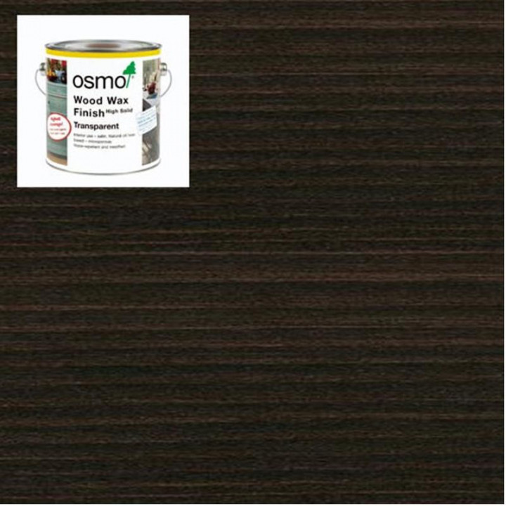Osmo Wood Wax  Finish Transparent Ebony-3161 2.5l