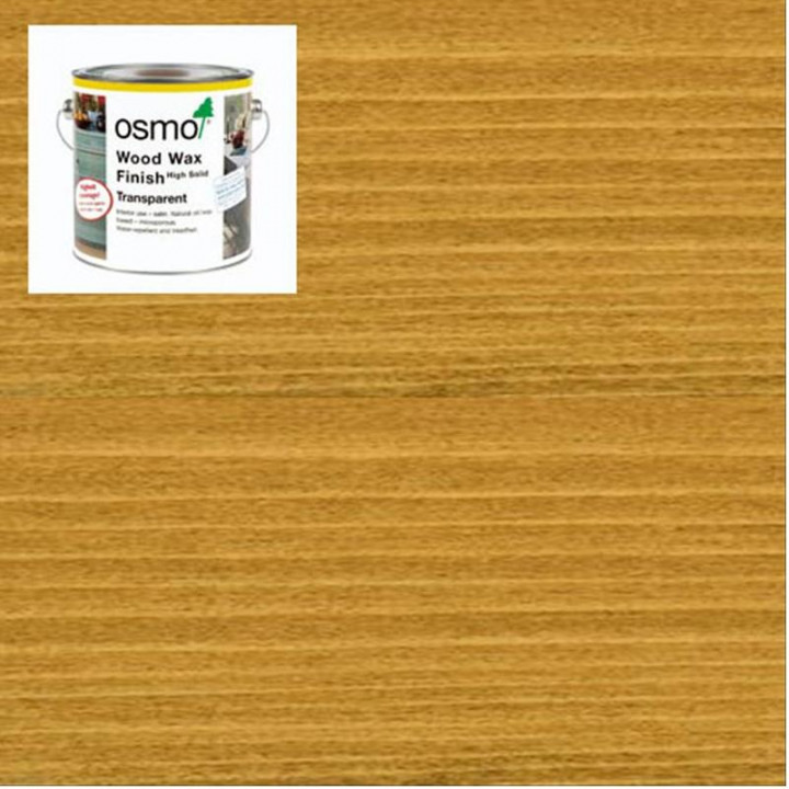Osmo Woodwax Finish Transparent Oak-3164 750ml