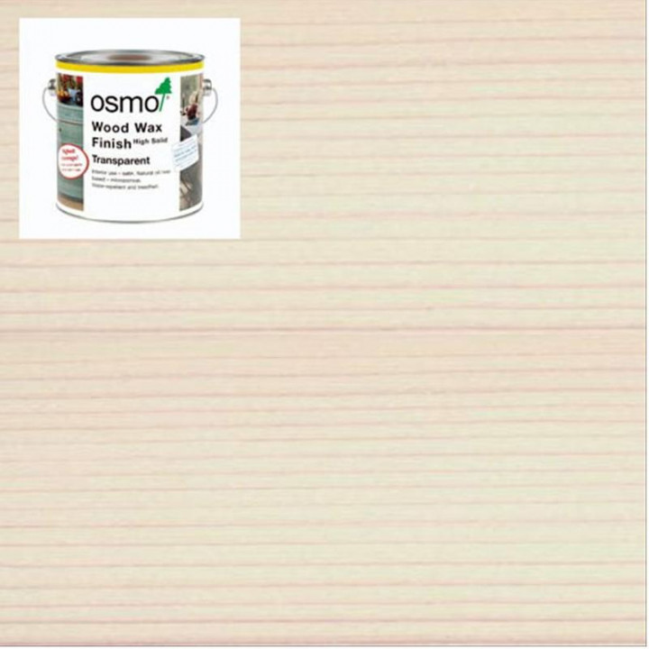 Osmo Wood Wax  Finish Transparent White-3111 2.5l