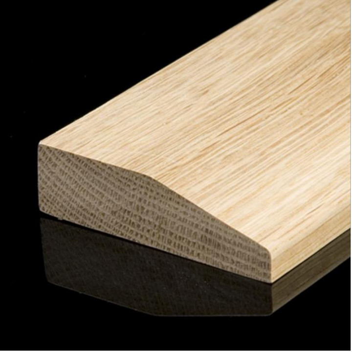 Solid Oak Chamfered Skirting Board