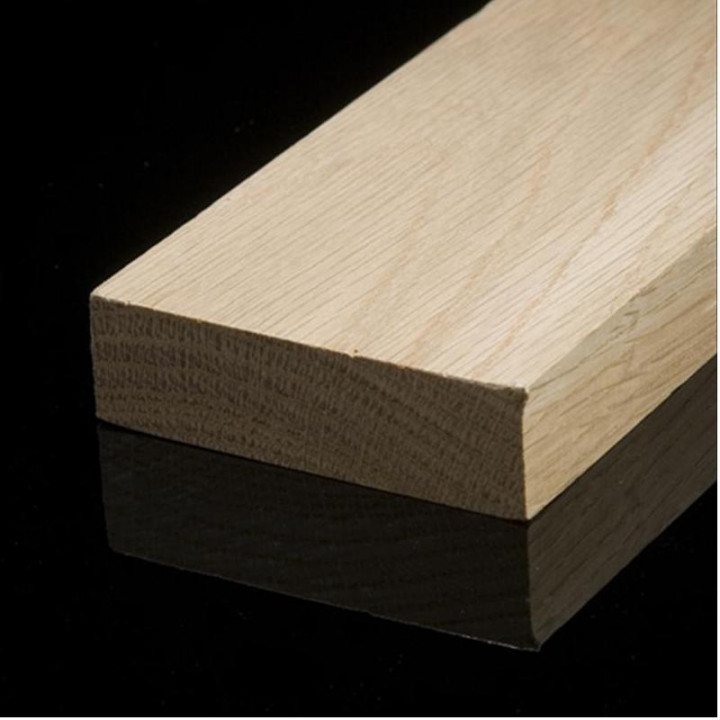Solid Oak Square Edge Skirting Board (95mm Oil)