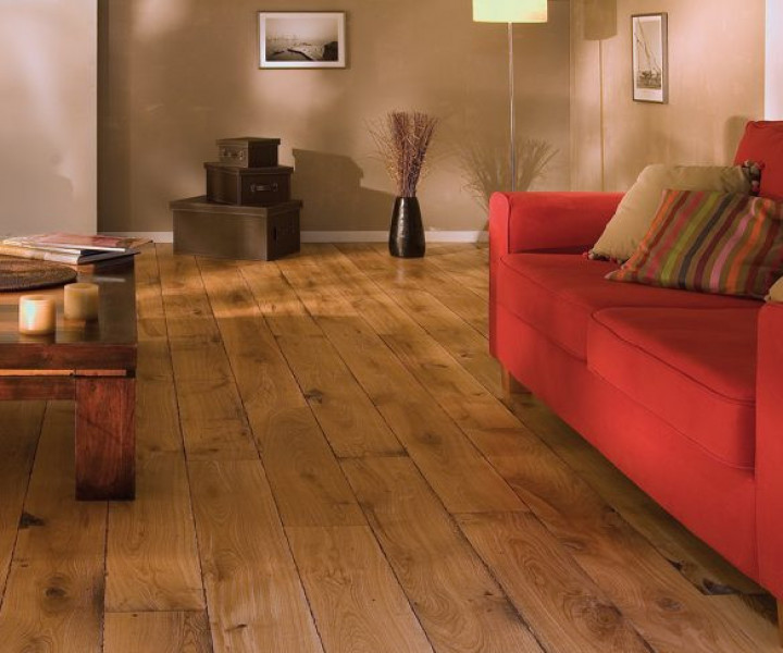 1003 Virginia Solid Oak Rustic Lacquered
