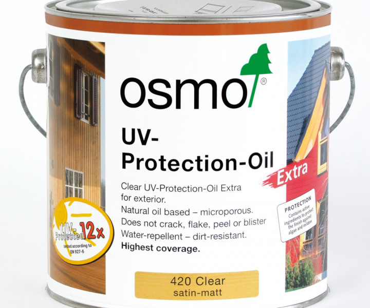 Osmo Uv Protection Oil Extra Clear 420 750ml
