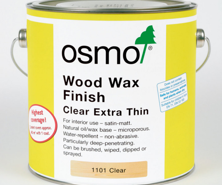 Osmo Clear Extra Thin 1101 (2.5l)