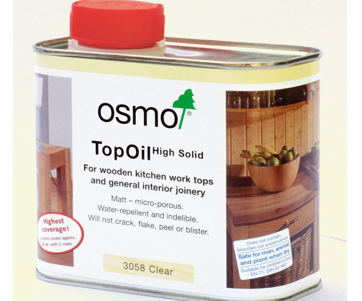Osmo Polyx Worktop Oil 3058 (500ml)