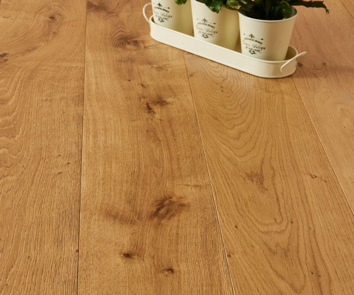 Brooks Floor -Balmoral Engineered Oak Brushed & UV Oiled T&G E2017A
