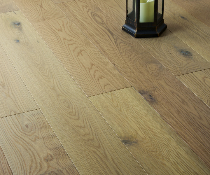Brooks Floor -Blenheim Engineered Oak Character grade  Raw Matt Lacquered M4002