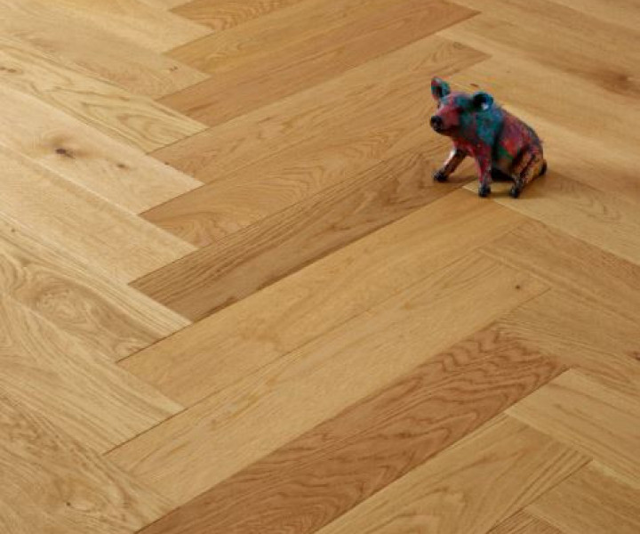 Brooks Floor -CHATFIELD Select Grade Brushed and Oiled Herringbone H1018