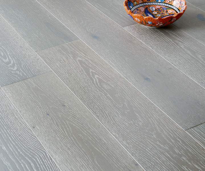 Brooks Floor -Blenheim Engineered Oak  Brushed Grey UV  Oiled  T&G M4001