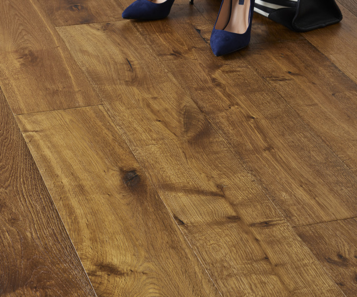 Brooks Floor - Loch Rannoch Rustic Oak Smoked Oiled
