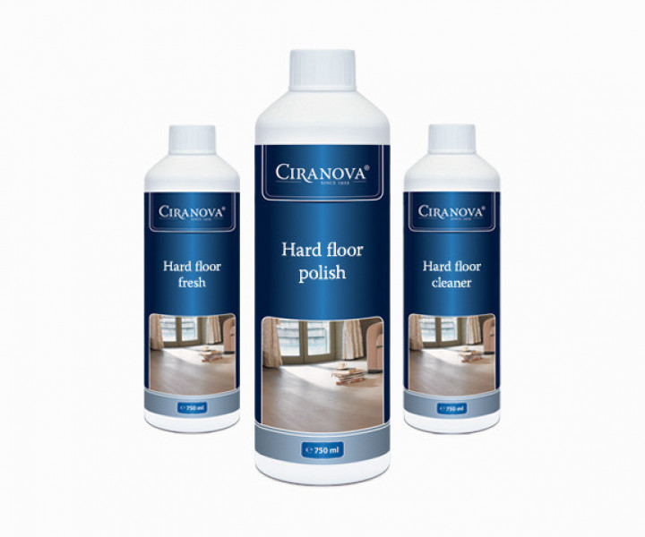 Ciranova Maintenance Kit for Lacquered Floors (Satin Finish)