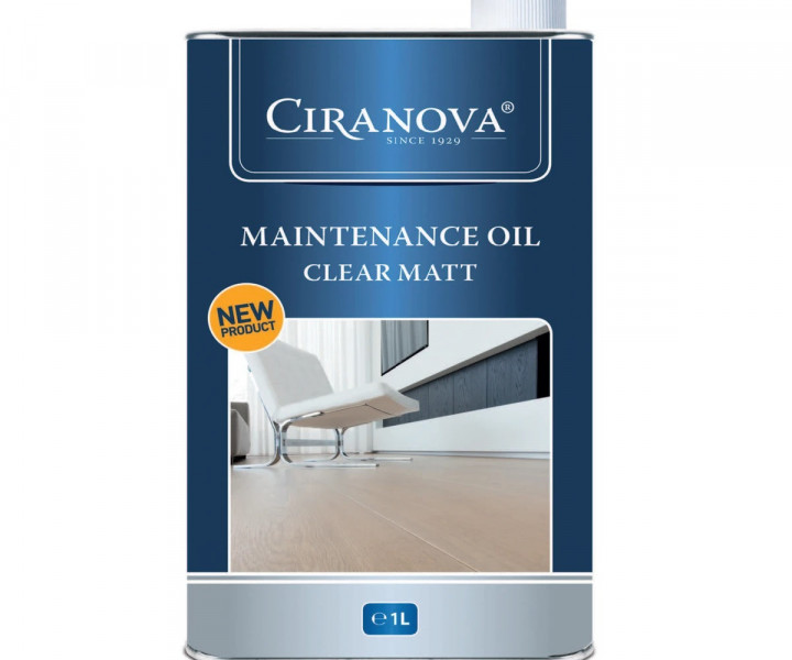 Ciranova Maintenance Oil - Clear Matt (1 litre)
