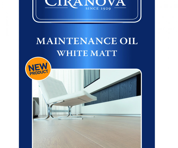 Ciranova Maintenance Oil - White Matt (1 litre)