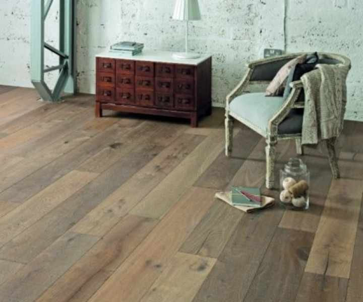 ELKA 14mm Smoked & Hand Sawn  Rural Oak