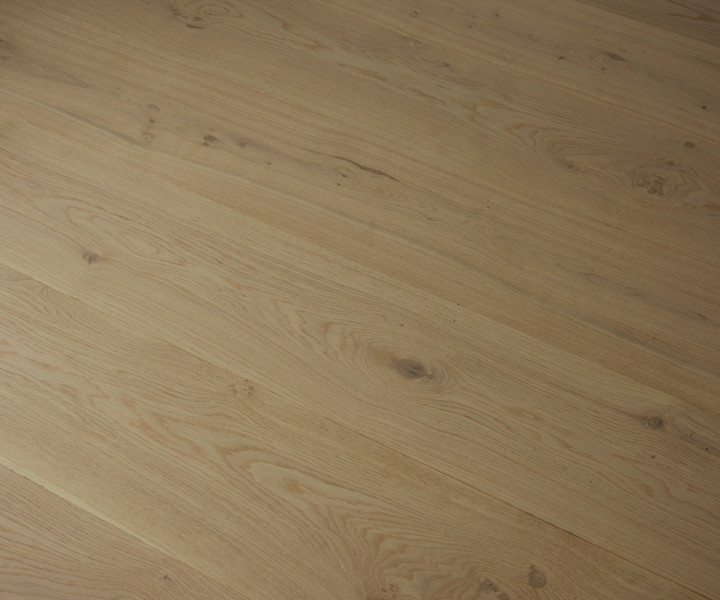 Grande Raw Oak Floor Brushed & Invisible UV Oiled