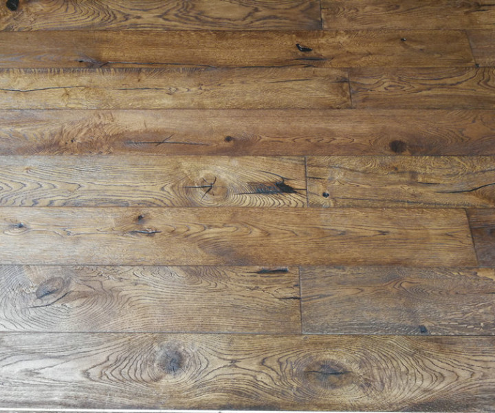 Old Terrain Distressed Antique Brown Oak Flooring