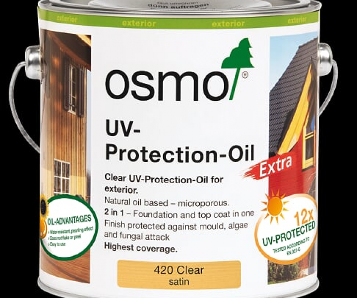 Osmo Uv Exterior Protection Oil Extra 420 (2.5l)