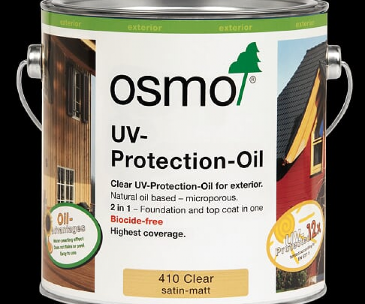 Osmo Uv Exterior Protection Oil 410 (2.5l)