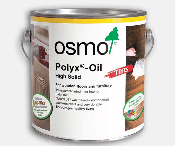Osmo Woodwax Finish Transparent Ebony 3161 (2.5L)