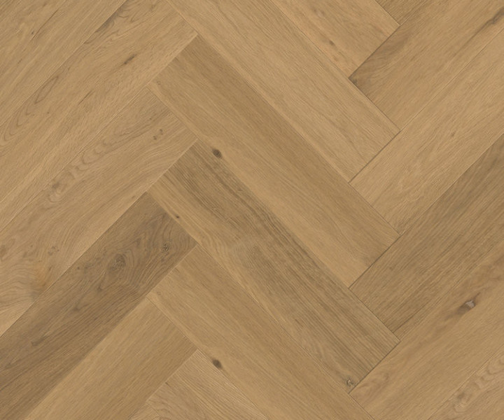 Urban Design Parquet - Engineered Herringbone Invisible Oiled Oak