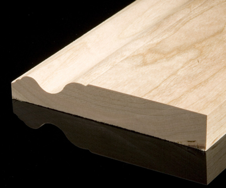 Solid Oak Ogee Skirting Board