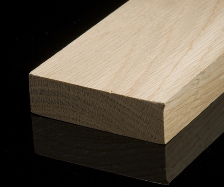 Solid Oak Square Edge Skirting Pack